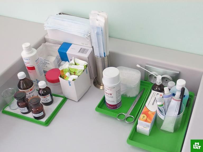 вы пригласили пациента в процедурный кабинет